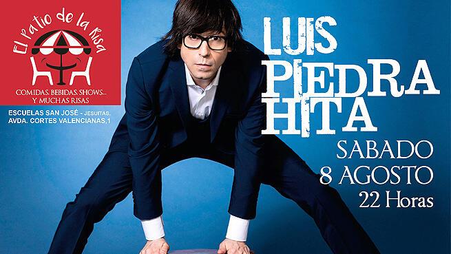 Luis Piedrahita en 'El patio de la risa'