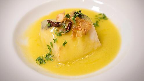Menú gourmet en el Restaurante La Barra
